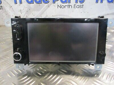 2017 Renault Clio Sat Nav Media Screen 281158826R #23937
