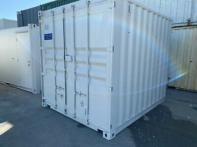 Storage Container / Site Store/ shipping - 10' x 8' Portable Building