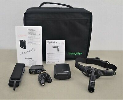 Welch Allyn 49000 Solid State Procedure Headlight System & LumiView Power Source