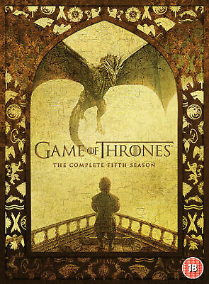 Game Of Thrones Season 5 DVD New & Sealed