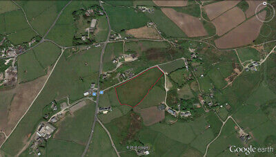 Freehold Land for sale CORNWALL: 3.7 Acres at TR16 6SR with extensive Sea Views