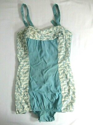 Vintage 1940s Swimsuit One Piece Par-Form Originals