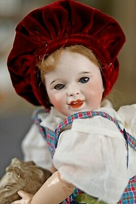 Antique French SFBJ 236 Character Toddler Doll Laughing Jumeau