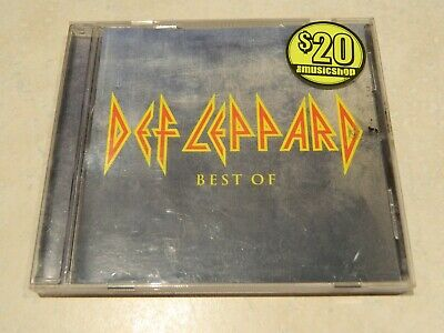 Def Leppard The Best Of CD [Ft: Photograph, Love Bites, Heaven Is, Rocket]