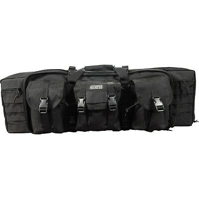 CampCo Humvee Double Gun Bag Heavy Duty 600D Polyester Fabric Black