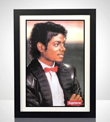 """/""""Respect For An Icon/"""" Exclusive Collector/'s Item Michael Jackson Print Art"""