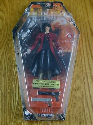 HELLSING Arucard Action Figure DVD Combo Limited Edition Search & Destroy