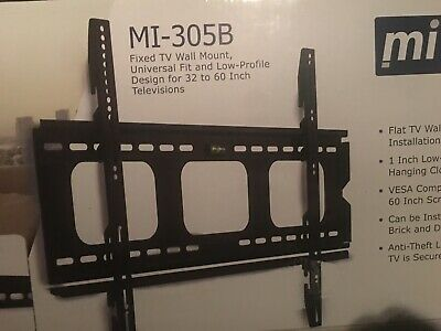 "S4 Height Adjustable Full Motion Interactive 50-60/""TV Wall Mount /&VESA 400*400"