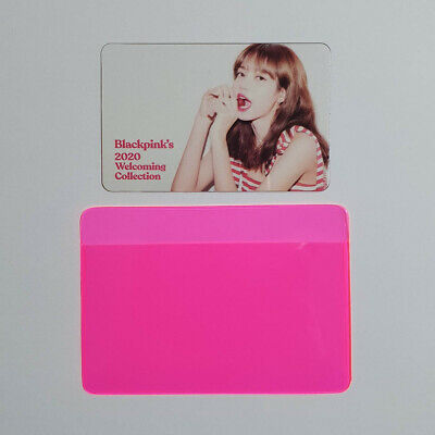 Lisa Official Clear Photocard BlackPink 2020 Welcoming Collection Kpop Genuine