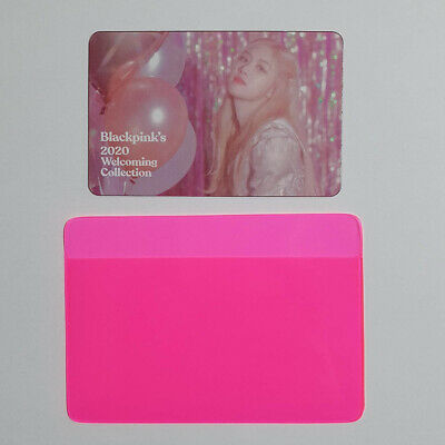 Rose Official Clear Photocard BlackPink 2020 Welcoming Collection Kpop Genuine
