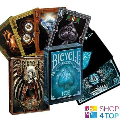 2 DECKS BICYCLE 1 ANNE STOKES AGE OF DRAGONS 1 GOLD DRAGON PLAYING CARDS NEW