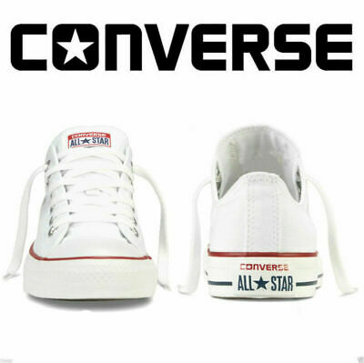 Womens Men Classic Chuck Taylor Trainer Sneaker All Stars OX Lo Tops Shoes White
