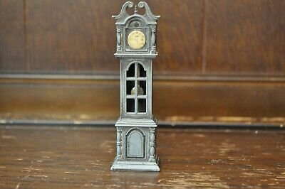 Gorgeous Vintage Novelty Metal Grandfather Clock Pencil Sharpener - 10cm Tall