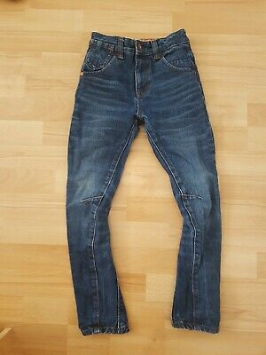 Boys Next O Leg Skinny Jeans, size 7 years - VGC