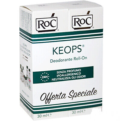 RoC Keops deo roll-on 30mlx2pz promo