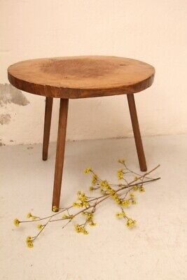 D 744 handcarved antique wooden table wabi-sabi