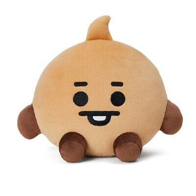 [100% Authentic] BTS BT21 Baby Official Goods Sitting Doll 20CM - Shooky Baby