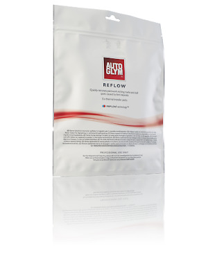 NEW Autoglym REFLOW Bird Dropping Paint Damage Stain THERMAL TRASFER WIPES x5