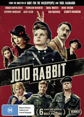 Jojo Rabbit  - DVD - NEW Region 4