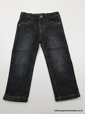18-24 month Denim&Co boys black jeans denim trousers