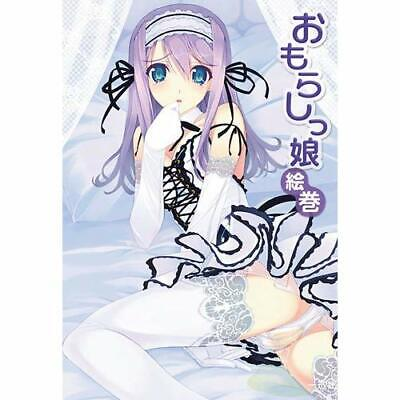Tickling girl picture scroll How to draw Japanese Book Manga