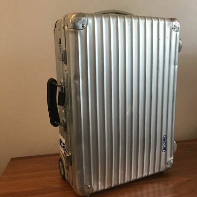 RIMOWA Suit Travel Trunk Case Classic Flight Trolley Carry Case 32 Litres used