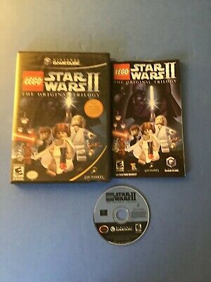 LEGO Star Wars II: The Original Trilogy (Nintendo GameCube, 2006) Complete