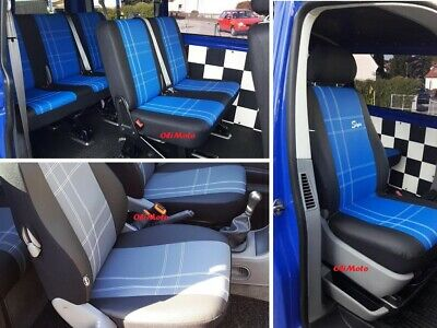 FORD TRANSIT TOURNEO CUSTOM 2018-2019 ARTIFICIAL LEATHER TAILORED SEAT COVERS
