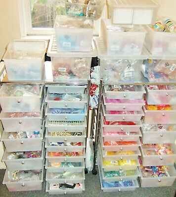 Craft supplies & handmade jewellery stock clearance. Ideal first / side business