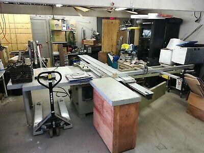 SCMI HYDRO 3200 Sliding Table Saw