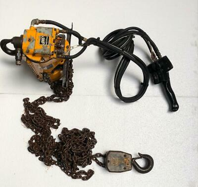 Ingersoll Rand Ml1000K-1C20-C16 Pneumatic Air Chain Hoist 1 Ton Capacity