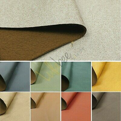 """Faux Suede Leather Car Seat Upholstery Campervan Caravan Leatherette Fabric 60""""W"""