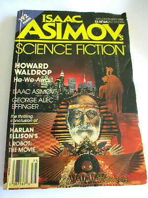 ISAAC ASIMOV'S SCIENCE FICTION Mid December 1987 VINTAGE PAPERBACK
