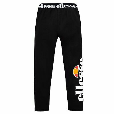 Ellesse Heritage Fabi Junior Kids Girls Legging Tight Trouser Black