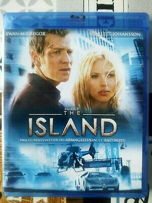 blu ray du film d'action The Island