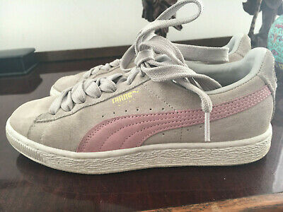 Puma girls/womens trainers, size 4