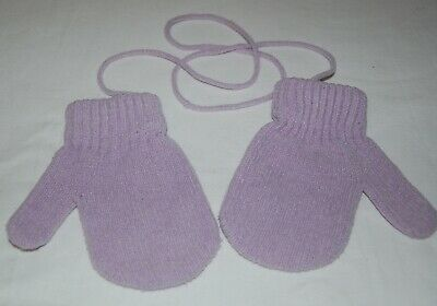 Purple Toddler Mittens - Size 2/3 (Toddler) - EUC