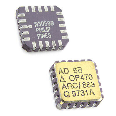 [1pcs] OP470ARC-883 Operational Amplifier LCC20-CG AD