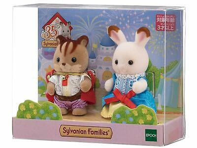 Sylvanian Families 35th Anniversary BABY PAIR SET PRINCESS & PRINCE  japan