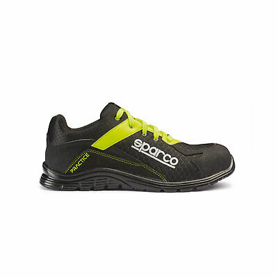 Sparco Practice Shoes black-yellow size EUR 47 NEW