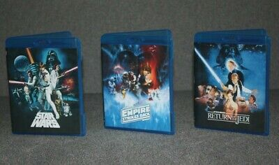 Star Wars Despecialized Original Trilogy Blu-Ray Set + Documentaries