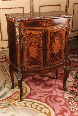 O-193 Inlaid Wardrobe in style of the Louis XV
