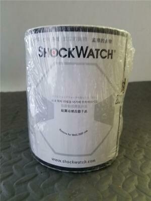 SHOCKWATCH MONITORED SHIPMENT DAMAGE INDICATOR LABELS (sealed 200 labels/roll)