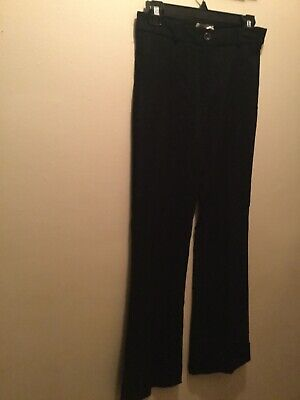 Women's 3 XOXO black stretch wide-leg dress pants new no tag