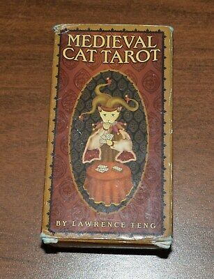Medieval Cat Tarot Cards - Lawrence Teng - US Games Systems - Complete