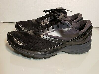 Brooks Launch 4 black grey mens running shoes 1102441D002 size 12