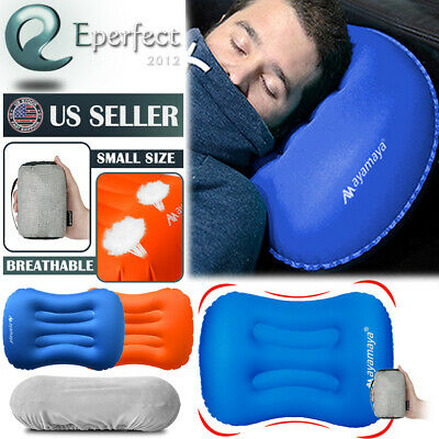 Ultralight Camping Pillow Inflatable Air Pillow Portable Outdoor Travel Cushion