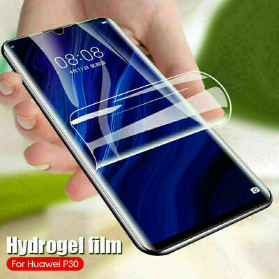 For Samsung Galaxy S20 Ultra S10 Plus A71 A51 10D Hydrogel Screen Protector Film
