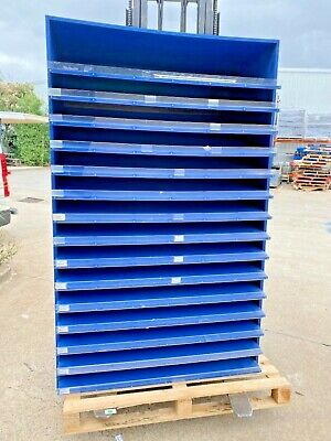 Heavy Duty paper/board display stand 15 shelves