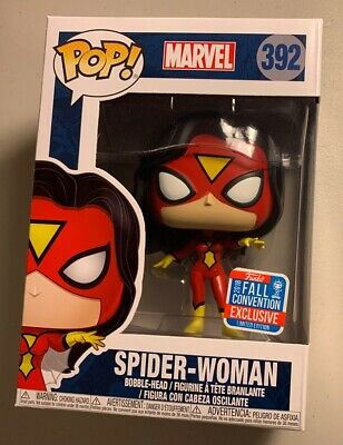 Vinyl -FUN30405 Spider-Man RS Spider-Woman Classic NYCC 2018 Exclusive Pop
